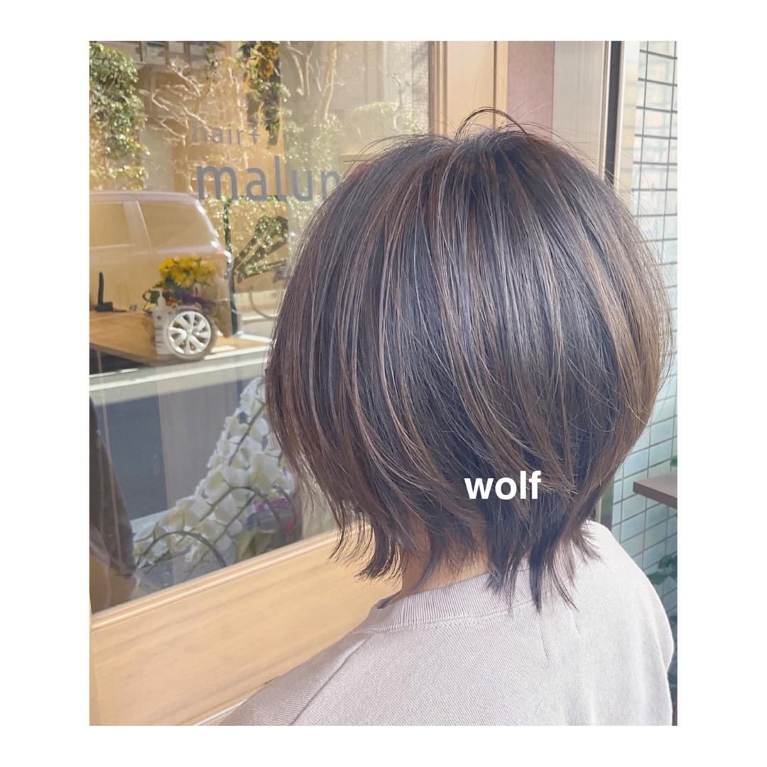 【土呂 美容室 hair+malun(ヘアプラスマルン)】本日のお客様