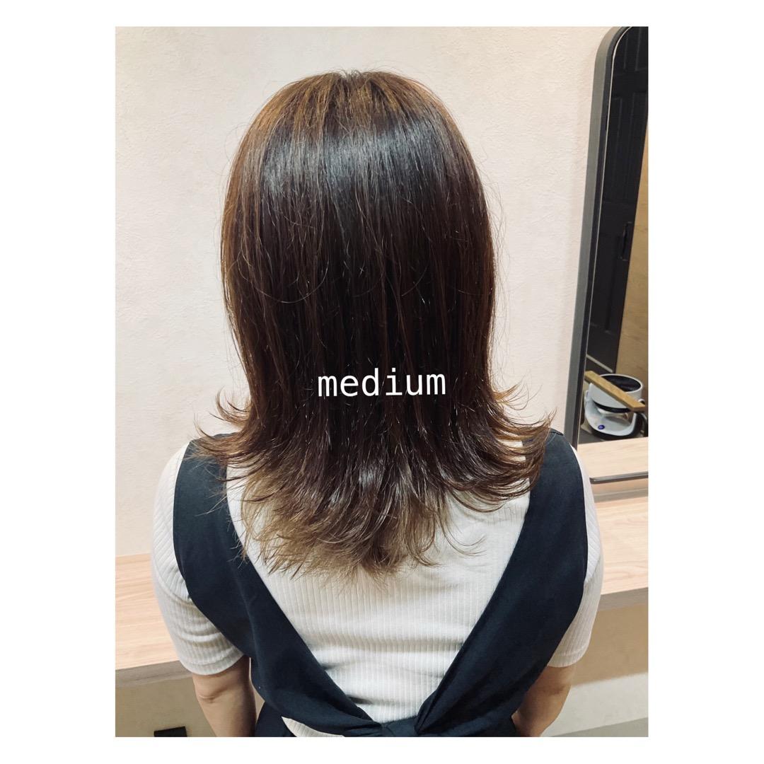 グロスカラー〜土呂美容室 ヘアプラスマルン hair+malun〜