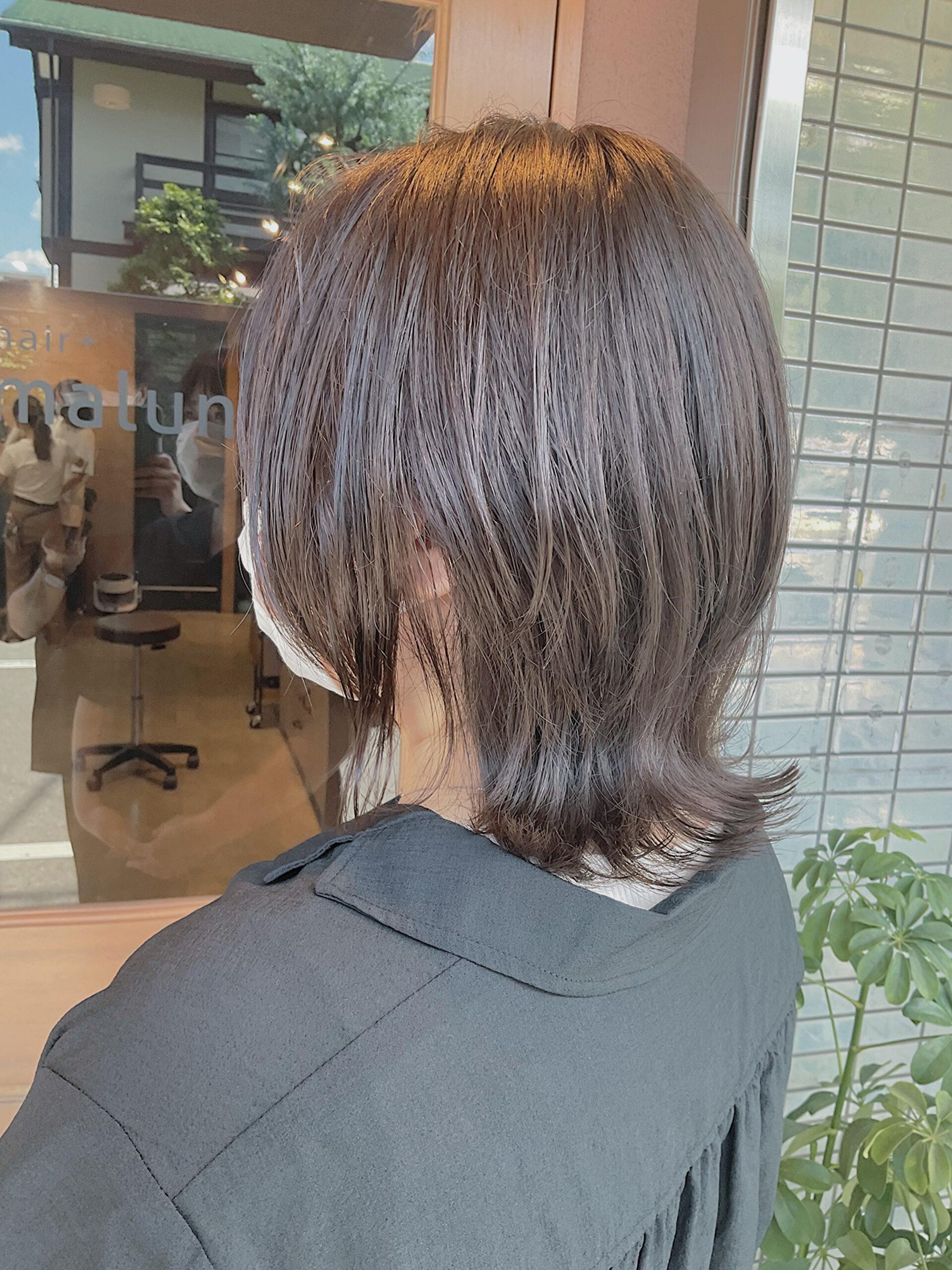 お客様スタイル hair +malun(ヘアプラスマルン)